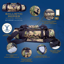 Dalstrong Ballistic Series Knife Roll (Camouflage)