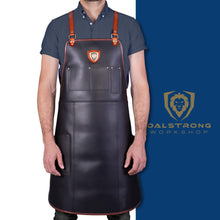 Dalstrong Professional Chef's Kitchen Apron - The Culinary Commander Top-Grain Leather