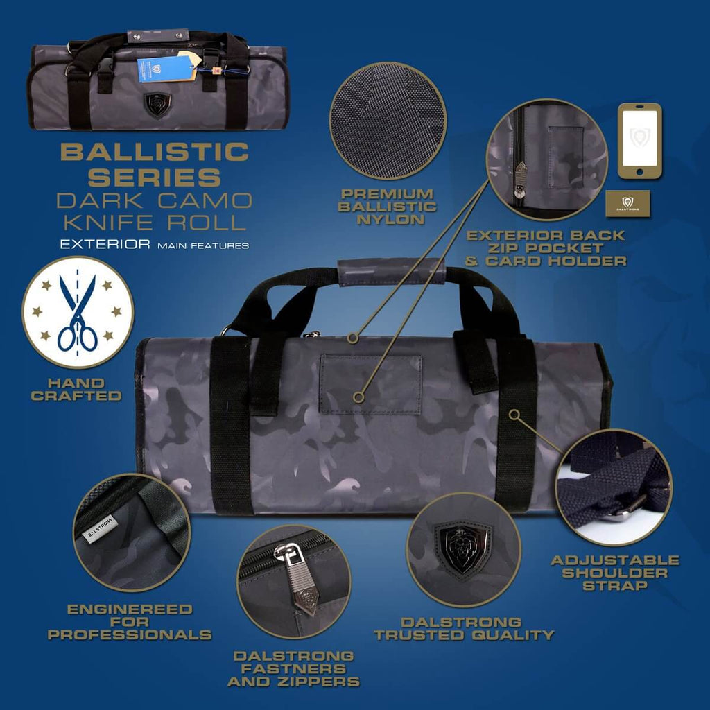 Dalstrong Ballistic Series Premium Knife Roll