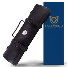 Vagabond Knife Roll - Top Grain Leather - Midnight Black