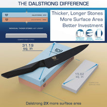 Dalstrong #400/#1000 Grit Premium Whetstone Set