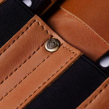 Vagabond Knife Roll - Full Grain Leather - California Brown