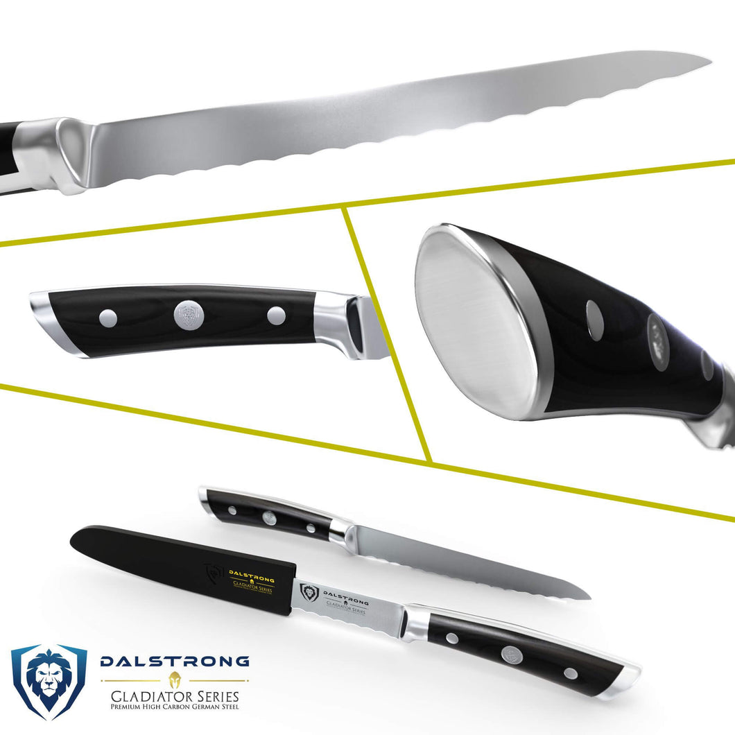 Gladiator Series 5 5 In Serrated Utility Knife Dalstrong
