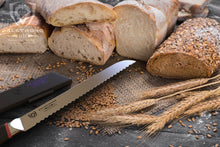 PHANTOM SERIES 9-IN DOUBLE SIDED SERRATED BREAD KNIFE