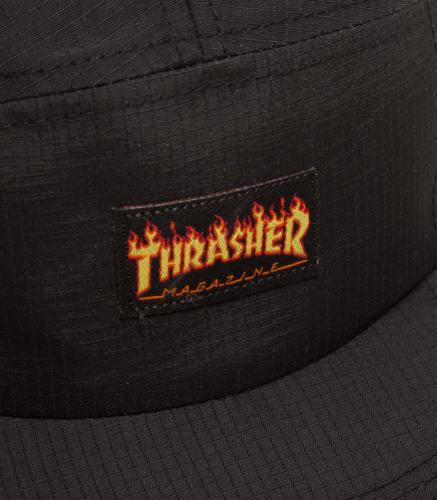 Thrasher Flame Logo 5 Panel Hat