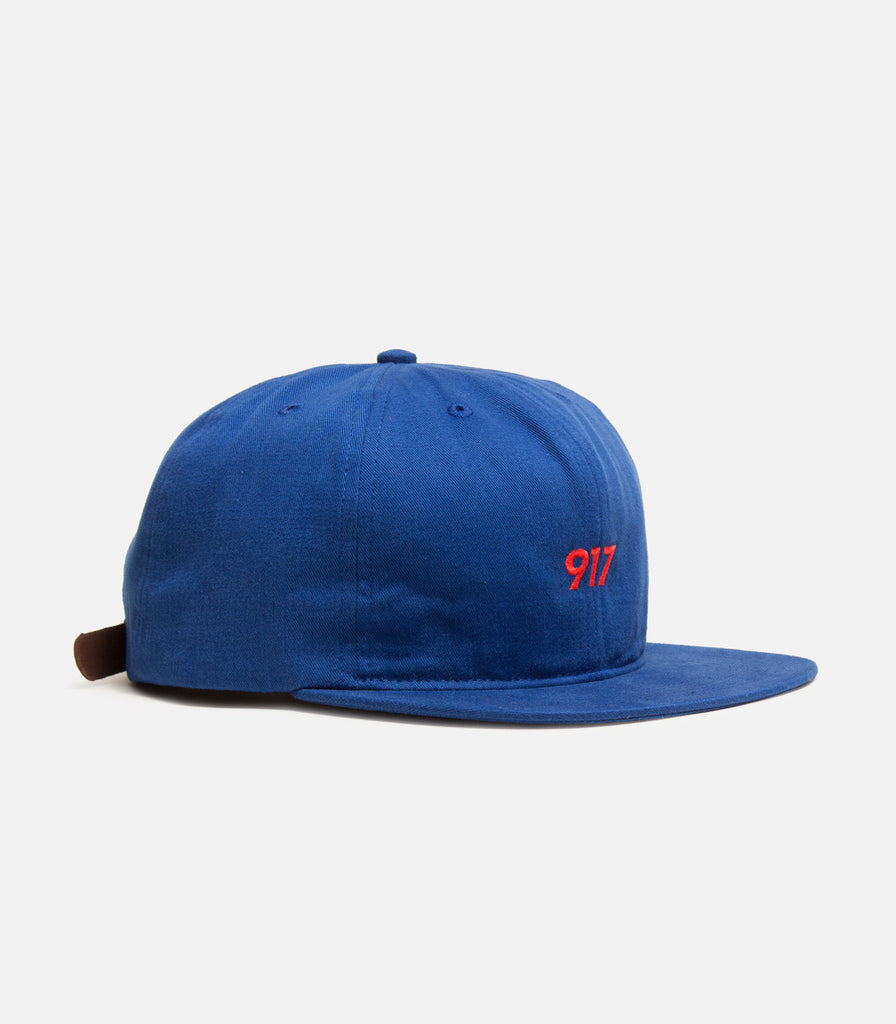 Call Me 917 Area Code 6 Panel Hat