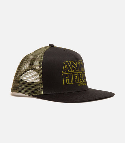 Antihero Black Hero Trucker Hat