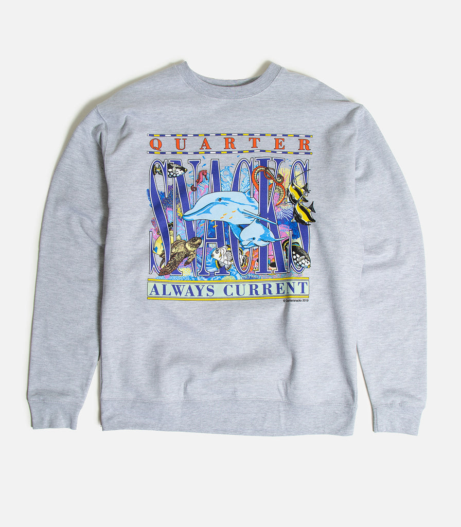 Quartersnacks Always Current Crewneck