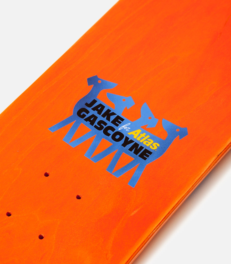 Jake Gascoyne For Atlas Deck - Orange