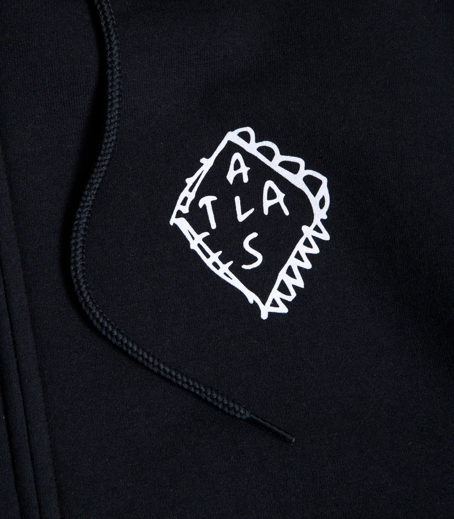 Jai Tanju For Atlas Contact Full-Zip Hoodie