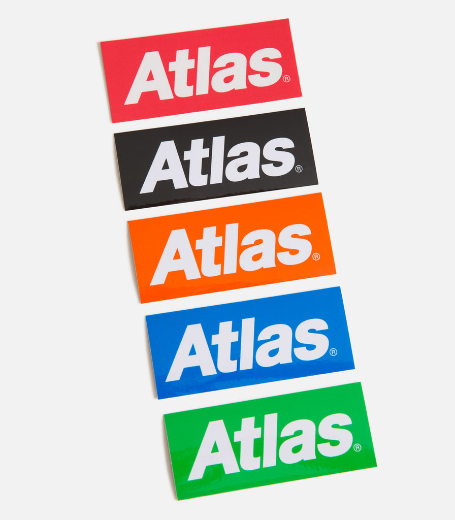 Atlas Logo Sticker Pack