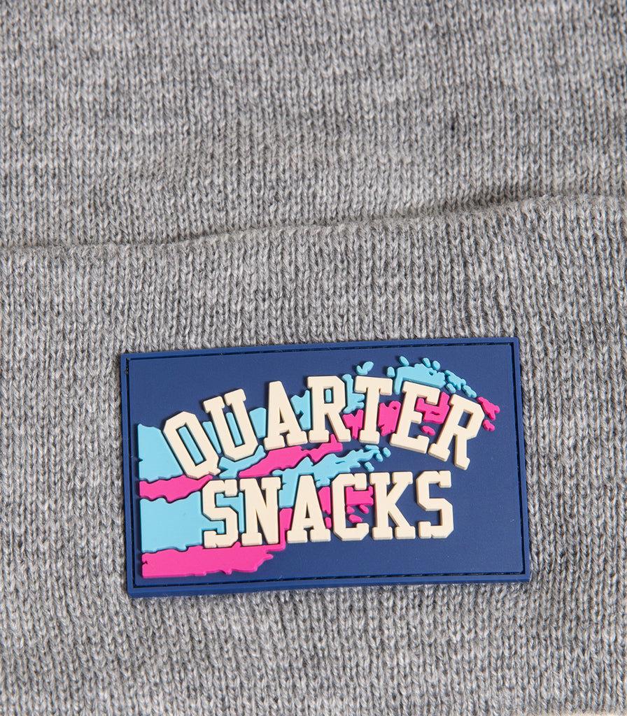 Quartersnacks Rubber Label Beanie
