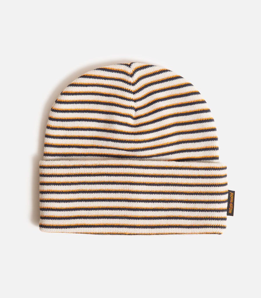 Fucking Awesome Striped Cuff Beanie