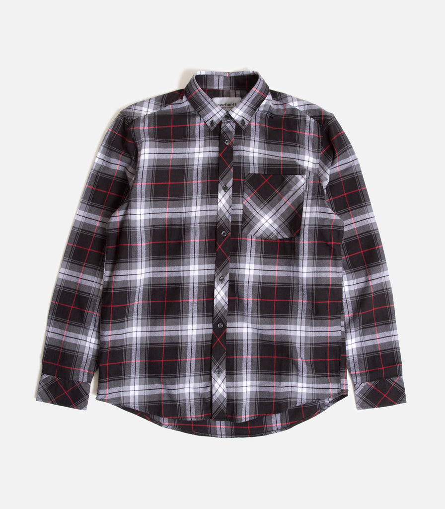 Carhartt WIP Phil Button Down Flannel Shirt