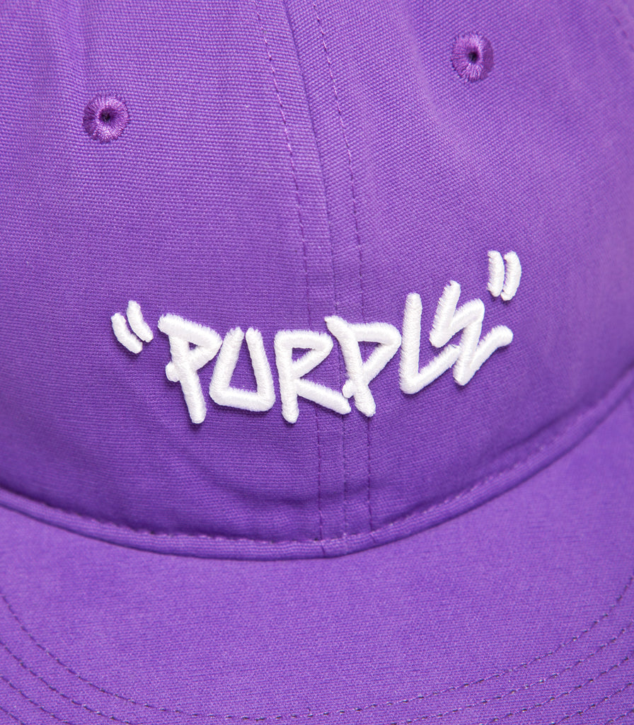 Converse Purple 6 Panel Hat