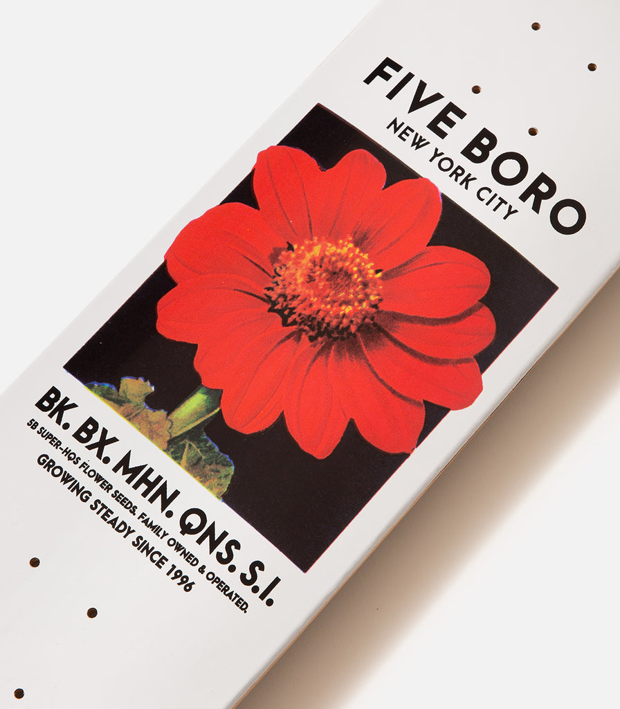 5Boro Flower Seed Red Deck