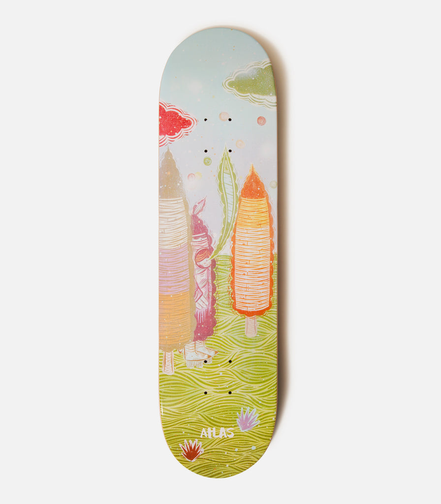 "Thomas Campbell For Atlas ""Uuummm"" Painting Deck"