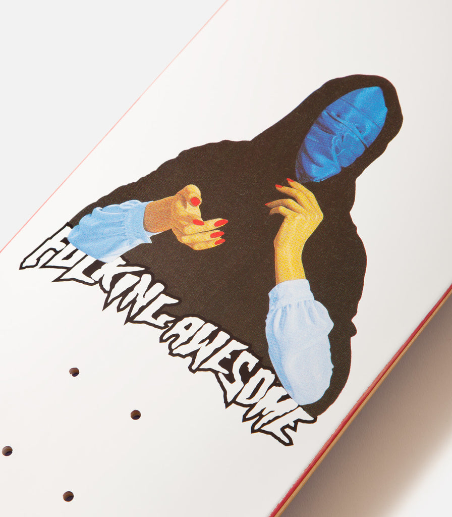 Fucking Awesome Blue Veil Deck