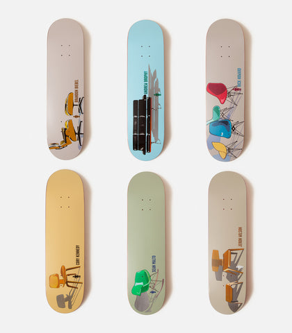 Girl Crail Classics Modern Chairs Deck Set