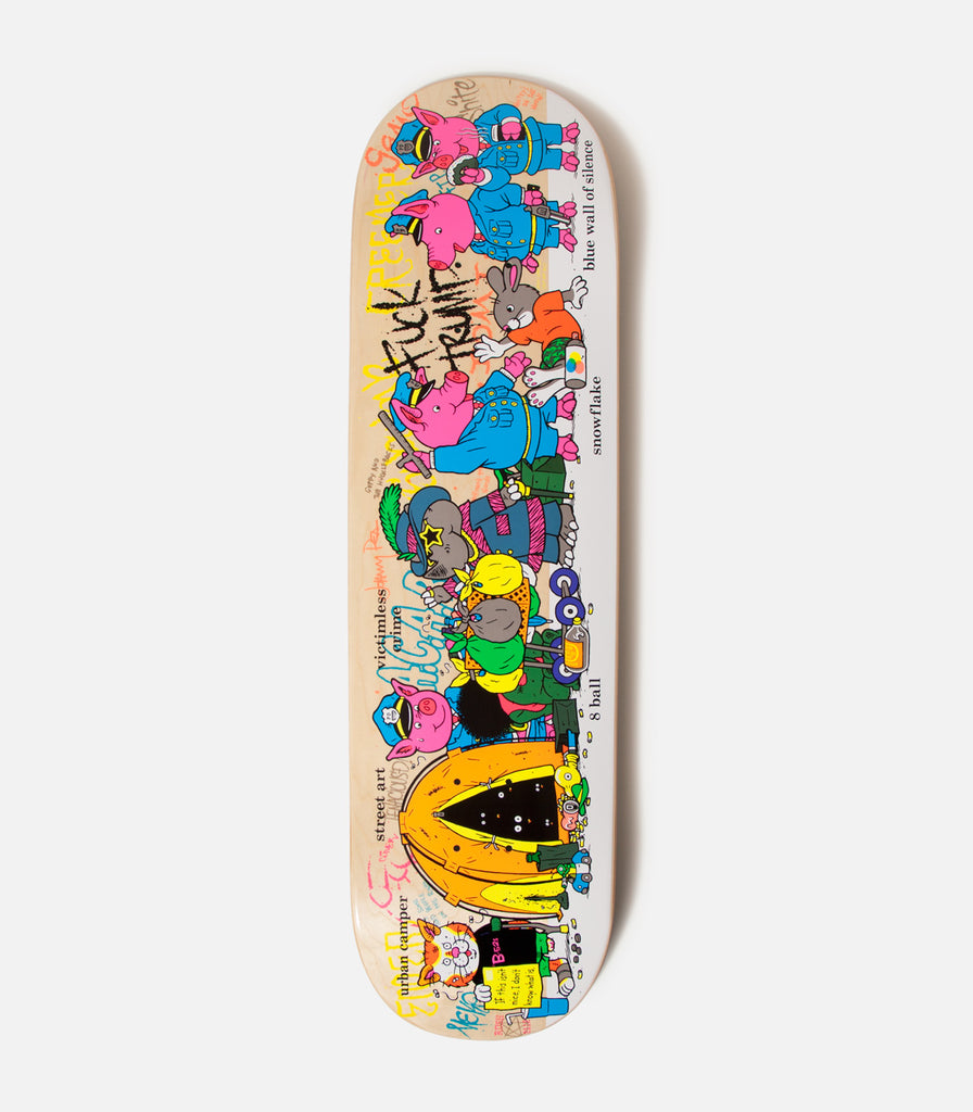 StrangeLove Skateboards Crazy Town Deck