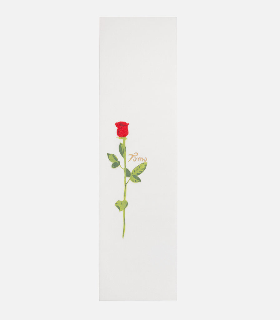 Tomo Skate Co. Rose White Griptape