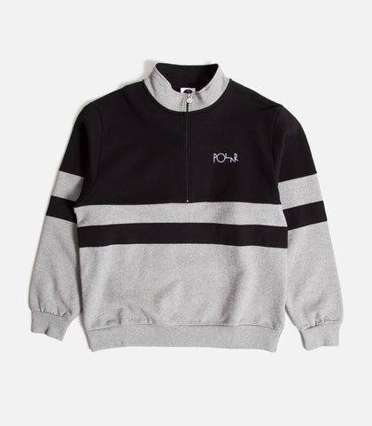 Polar Block Zip Sweatshirt