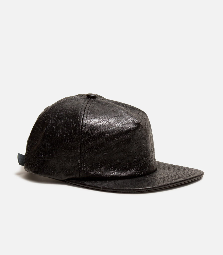 Fucking Awesome Logo Emboss Strapback Hat