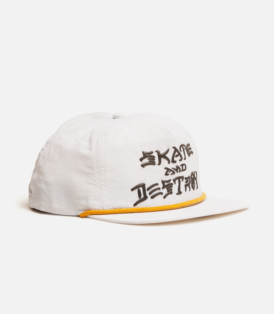 Thrasher Skate And Destroy Puff Ink Snapback Hat