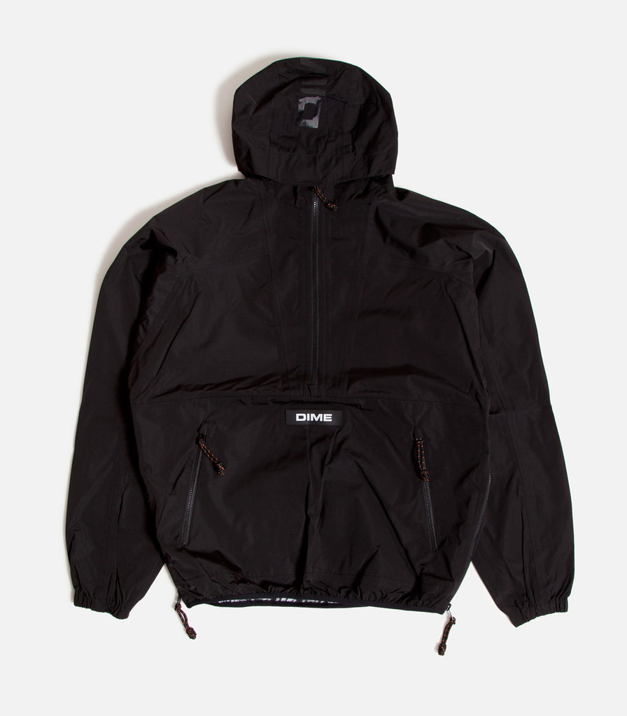 Dime Pullover Hooded Shell Jacket