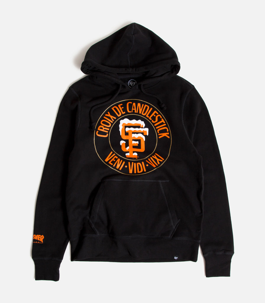 Thrasher X SF Giants Candlestick Headline Pullover