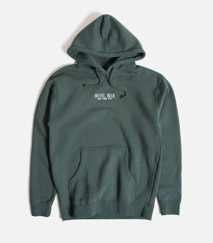 Hotel Blue Embroidered Logo Pullover