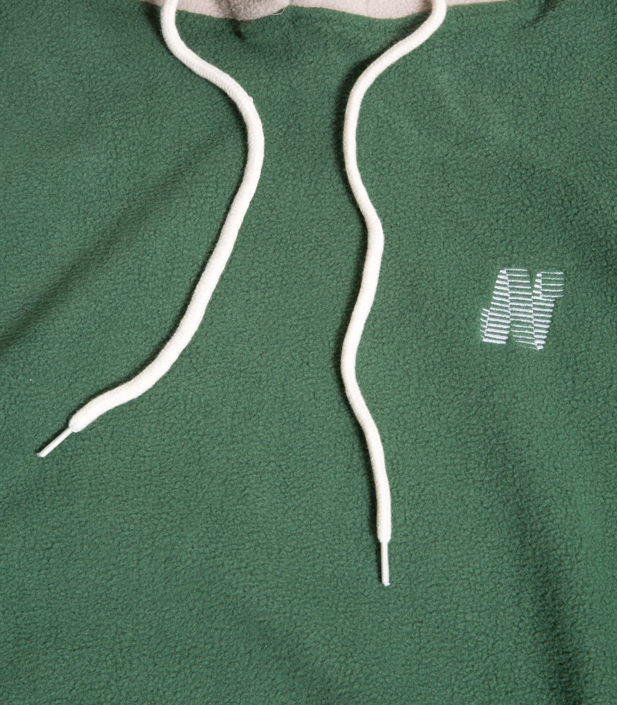North Skate Mag N Logo Two Tone Fleece Pullover