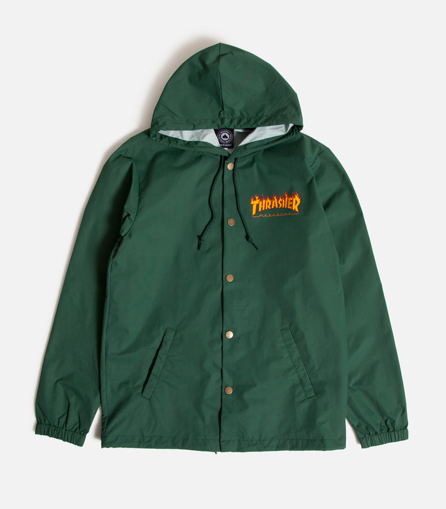 Thrasher Flame Logo Coaches Jacket
