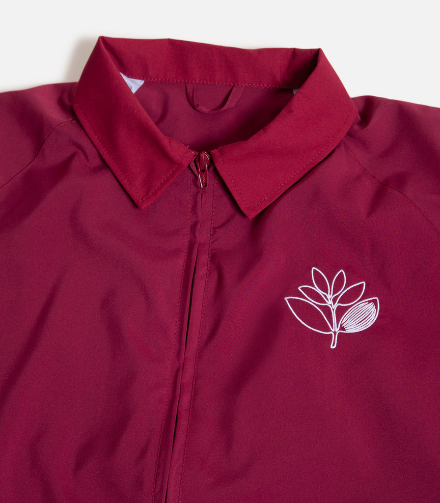 Magenta Outline Coach Jacket