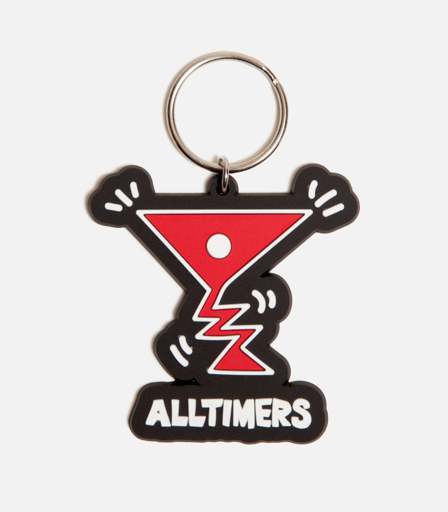 Alltimers Action Logo Keychain