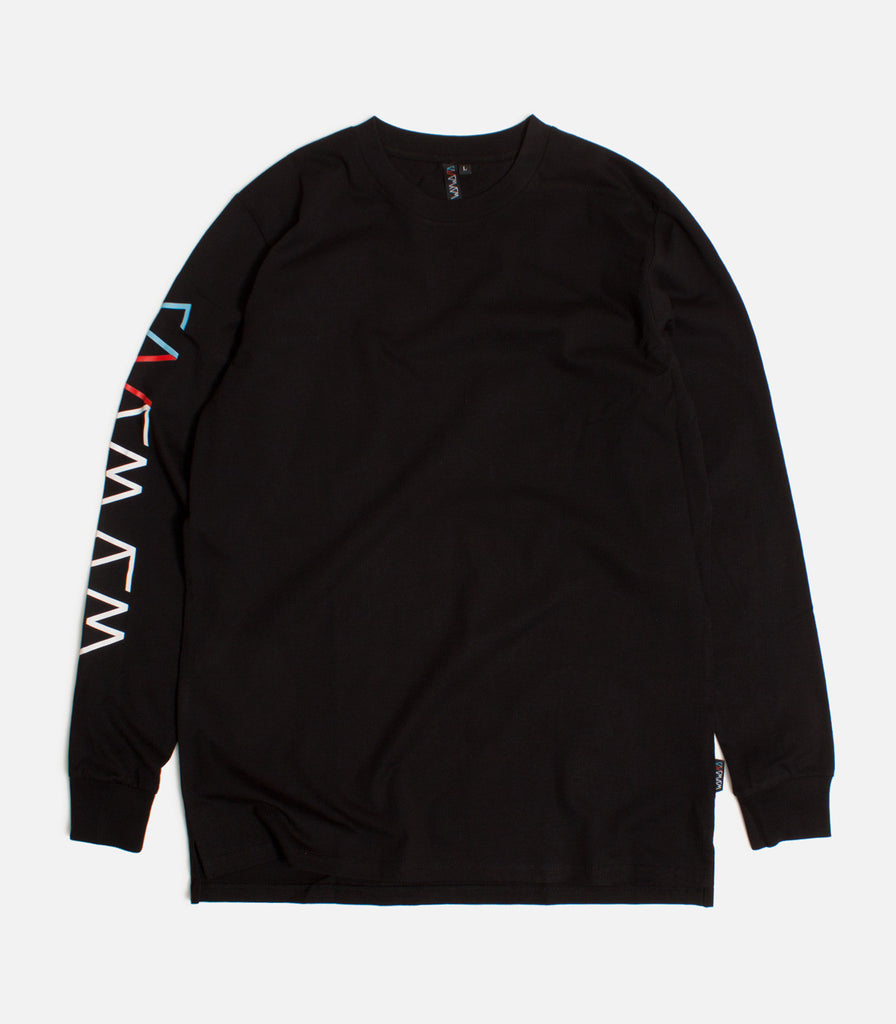Wayward Wheels Downshift Long Sleeve T-Shirt