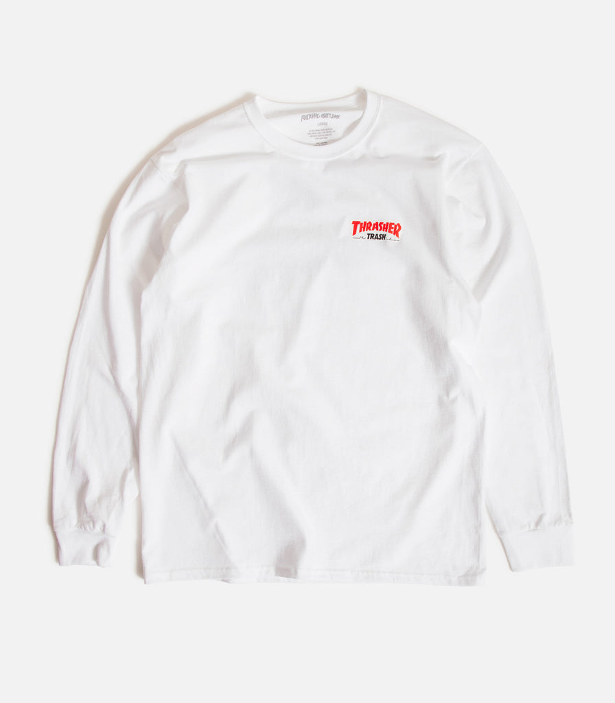 Fucking Awesome X Thrasher Trash Me Long Sleeve T-Shirt
