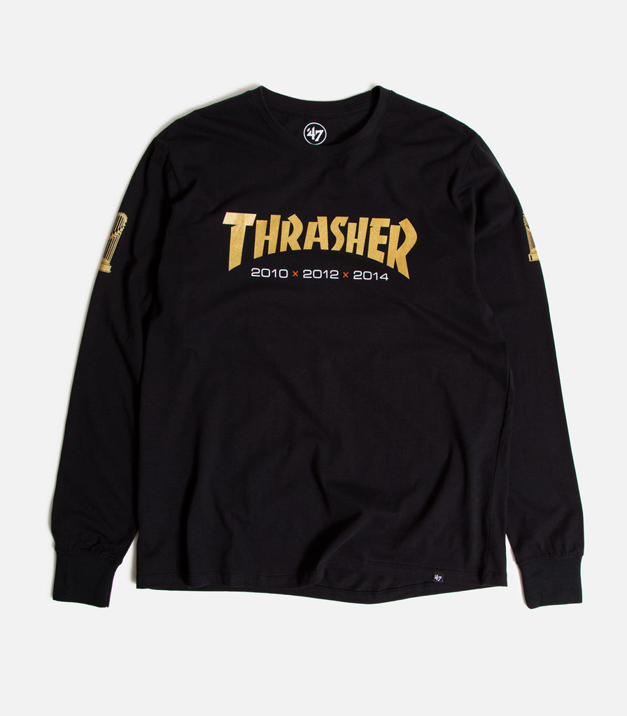 Thrasher X SF Giants Rival Long Sleeve T-Shirt