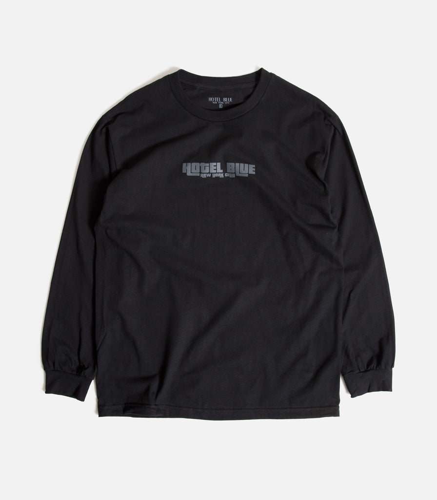 Hotel Blue Pricedown Longsleeve T-shirt