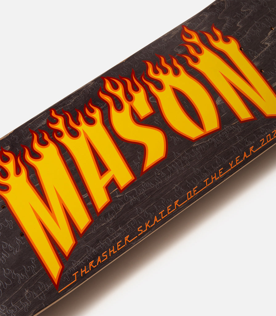 Real Mason Silva Skater of the Year Deck