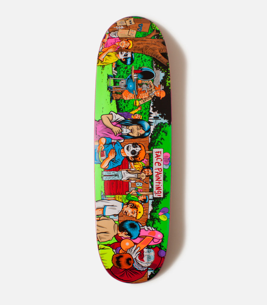 Paisley Skates Serial Party Deck
