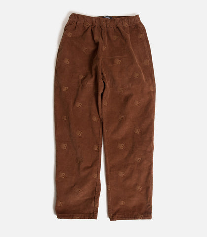 Bronze 56K All Over Embroidered Corduroy Pants