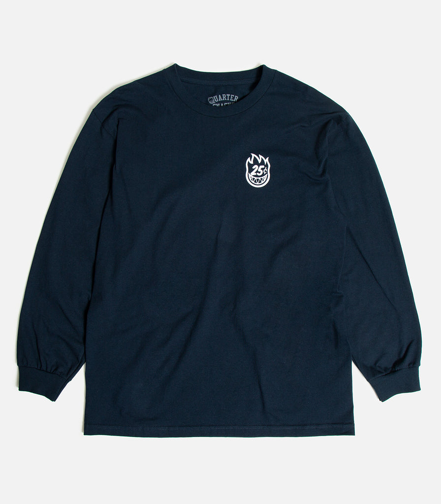 Spitfire X Quartersnacks Classic Long Sleeve T-Shirt