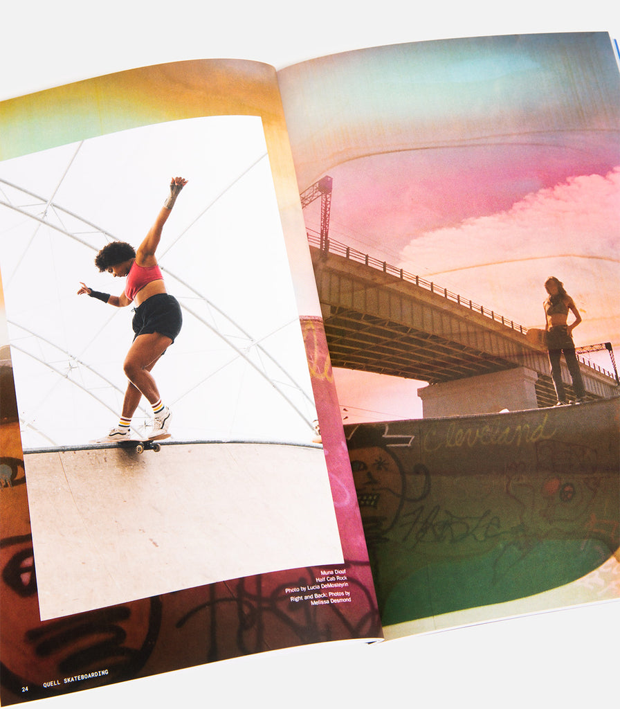 Quell Skateboarding Issue 006