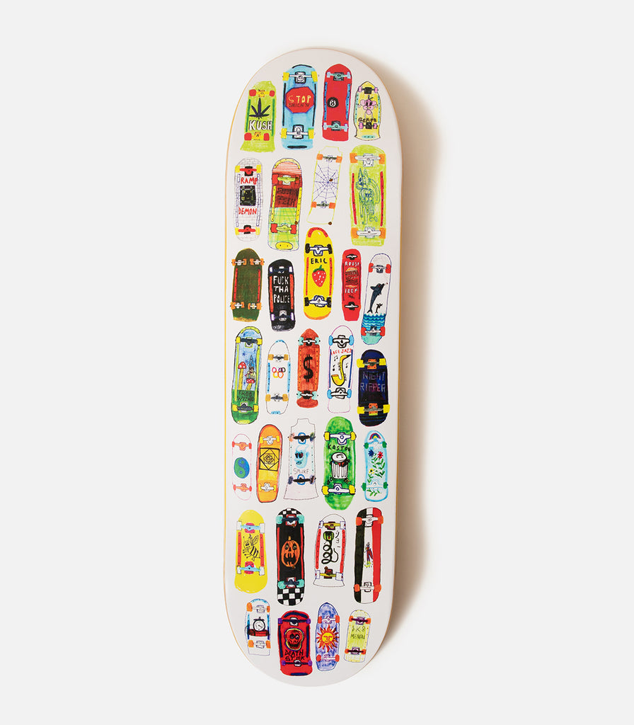 Skate Mental Koston Board Collage Deck