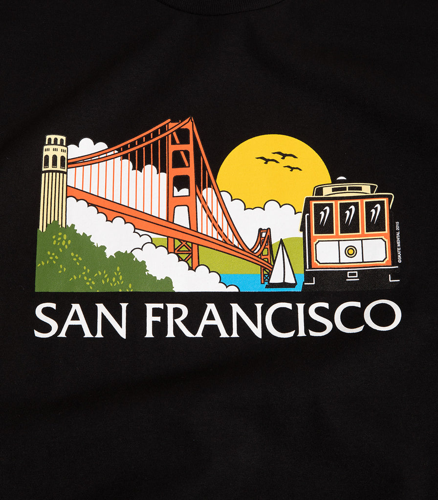Skate Mental SF Tourist T-Shirt