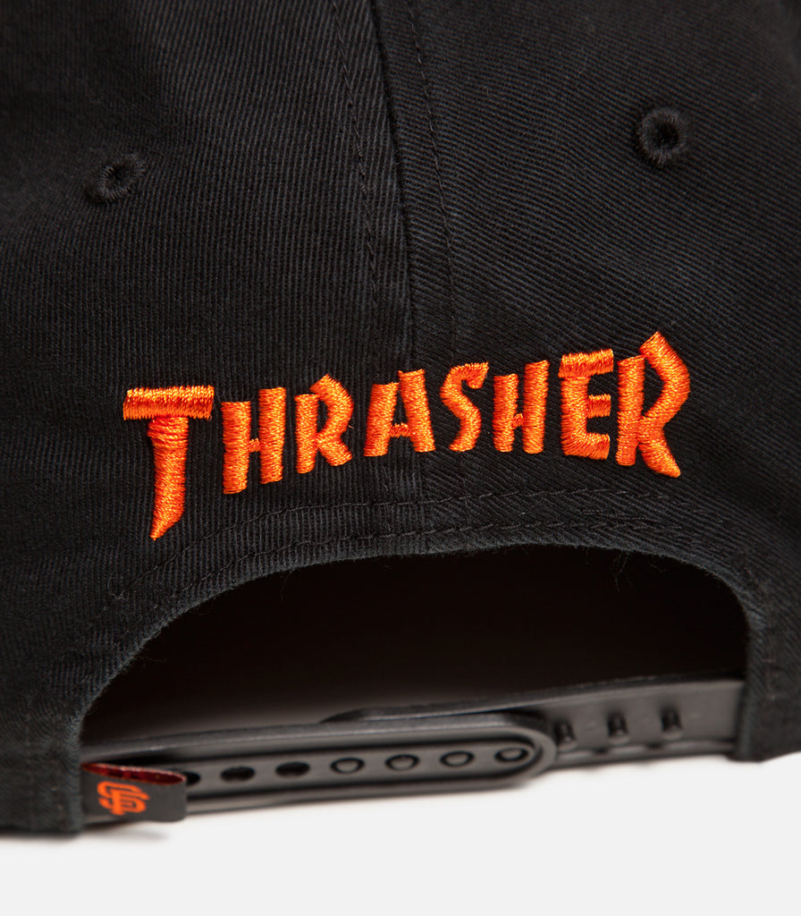Thrasher X SF Giants Candlestick Captain Hat