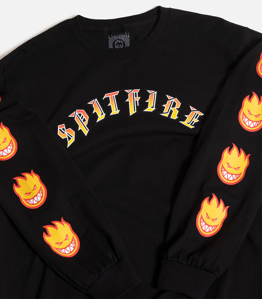 Spitfire Old English Long Sleeve T-Shirt