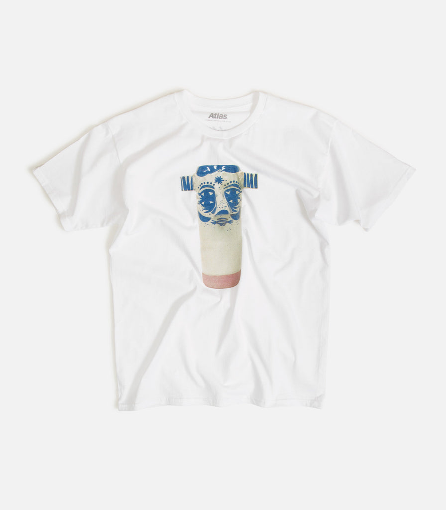 Thomas Campbell For Atlas Yar Face Ceramic T-Shirt