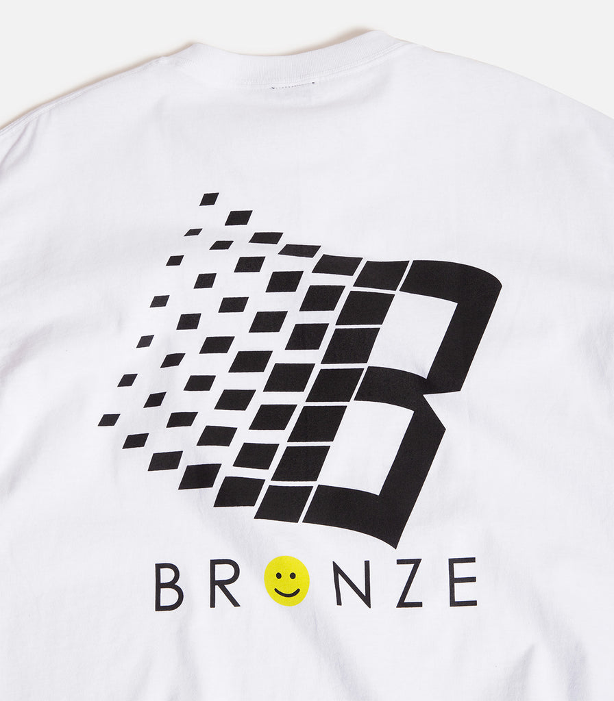 Bronze 56K Smiley B Logo T-Shirt